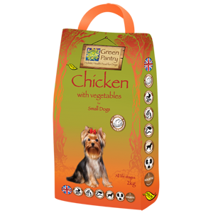 Chicken and Vegetables Small Dog 2016 trial