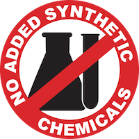 No added synthetic chemicals